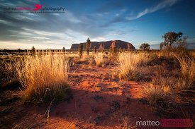 Uluru at sunset, Northern Territory, Australia