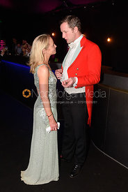 The Hon. Amanda Eastwood, Tim Eastwood. The Quorn Hunt Ball