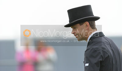 Kevin McNab  - dressage phase,  Land Rover Burghley Horse Trials, 6th September 2013.