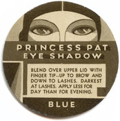 Antique Label for Princess Pat Eye Shadow