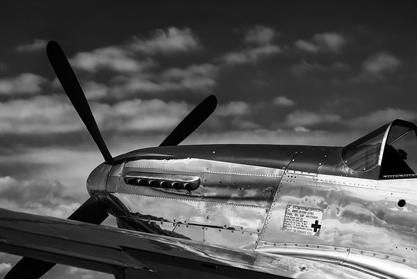 P-51D Mustang on the Tarmac