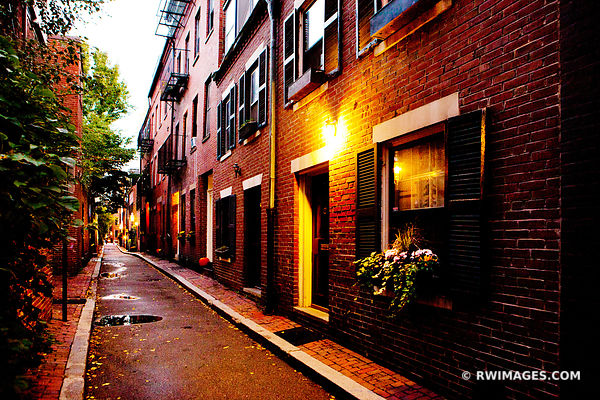 BEACON HILL STREET BOSTON COLOR