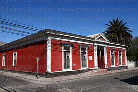 Casa Matta, now the Regional Museum, Copiapó, Region III, Chile