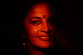 Indeia - Delhi - Brinda Karat, political activist and feminist