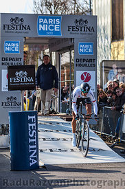 The Cyclist Velits Peter- Paris Nice 2013 Prologue in Houilles