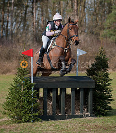 Katy Hurst and Weston IV, Oasby Horse Trials 2011