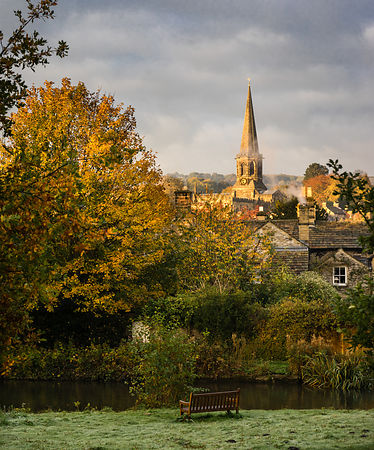 Autumn morning at Bakewell | Peak District Photography