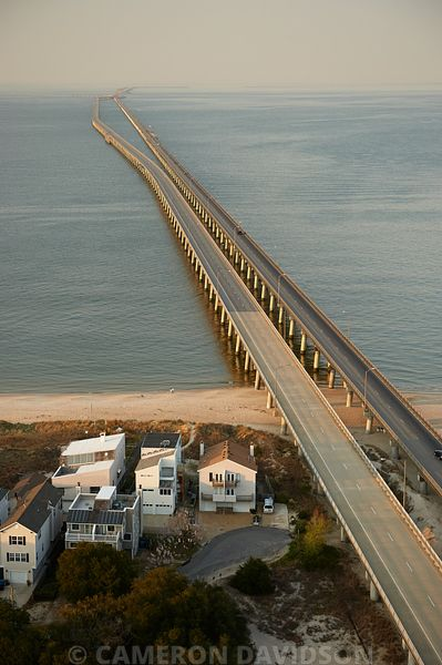 Chesapeake Bay Bridge Tunnel Aerials