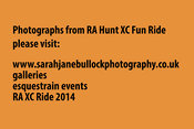 RA Hunt XC Fun Ride 2014