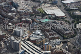 Leeds aerial photograph of The Embankment Sovereign Street developments