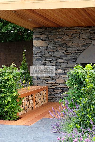 La Phototheque Les Plus Beaux Jardins Mur En Pierres
