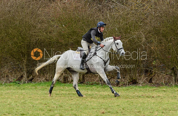 Wills Oakden and A CLASS COOLEY. Oasby (1) Horse Trials 2019