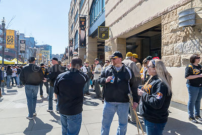 Fans Waiting For Friends Outside PNC Park