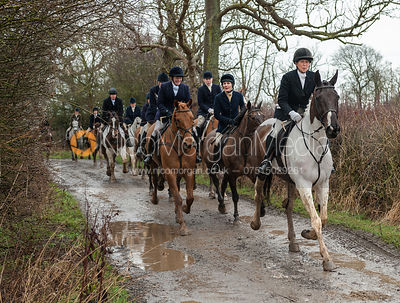 Fernie Hunt at Ashby Magna 7/3