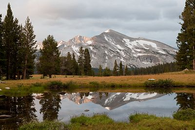 Mammoth Mountain Reflections