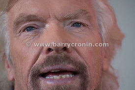 1st October, 2015. Virgin Group Founder Richard Branson at the launch of Virgin Media in the RDS today...Photo:Barry Cronin/w...