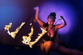 HoopSista with Snake Poi