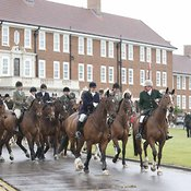 Royal Artillery Hunt Closing Meet & Supper 14 April 2012