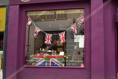Diamond Jubilee Shop Window Display