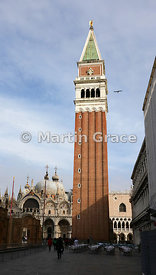 The Campanile (1912), Piazza San Marco, Venice, Italy