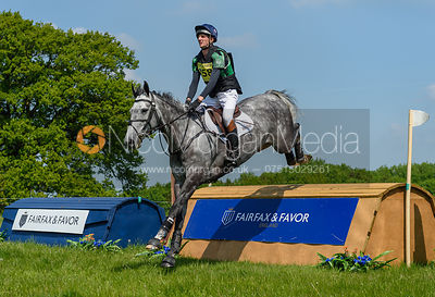 Tom Jackson and CAPELS HOLLOW DRIFT, Fairfax & Favor Rockingham Horse Trials 2018