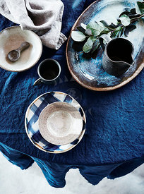 Modern Rustic Tablesettings
