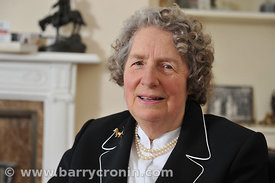 29th January, 2013. Baroness Diana Wrangle Connolly Carew photographed at her home in Oberstown, Tara, County Meath.Photo:Bar...