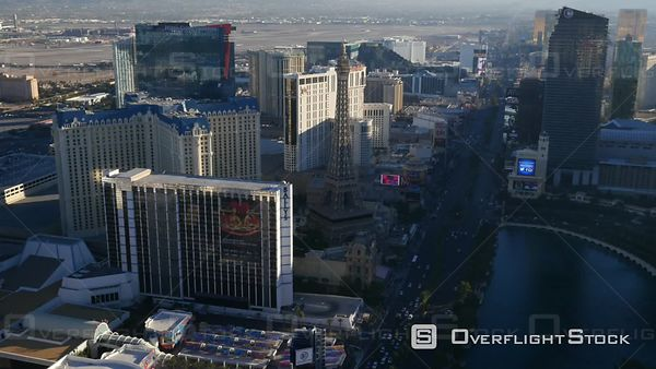 Las Vegas, Nevada, USA  Aerial Footage of Las Vegas Strip