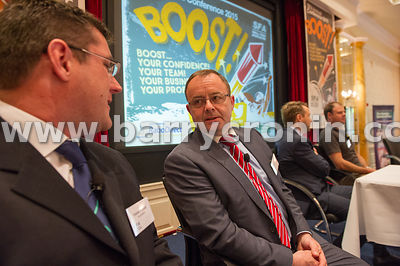 Wednesday 9th June, 2015.Small Firms Association 'Boost' Conference at the Clyde Court Hotel. Pictured is  Fabian Peyaud (Her...
