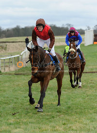 Cantering to the start - Mens Open - Cottesmore at Garthorpe