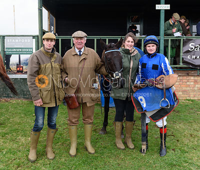 SILVER ROQUE (Henry Morshead) - Race 3 - Mens Open - The Cottesmore Point-to-point 26/2