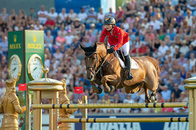 19/07/18, Aachen, Germany, Sport, Equestrian sport CHIO Aachen 2018 - ,  Image shows Simone BLUM (GER) riding DSP Alice. Copy...