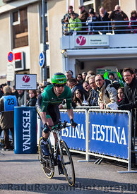 The Cyclist Pichot Alexandre- Paris Nice 2013 Prologue in Houilles