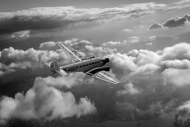 Travel in an age of elegance black and white version