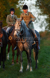 PC- The Cottesmore Hunt at America Crossroads 17/10