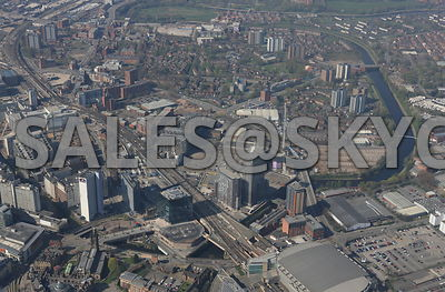 Salford Central and the Greengate development and 101 Embankment area of Salford Manchester