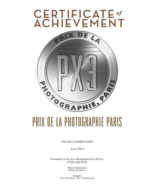 Prix de la photographie de Paris (PX3) - Silver Awards