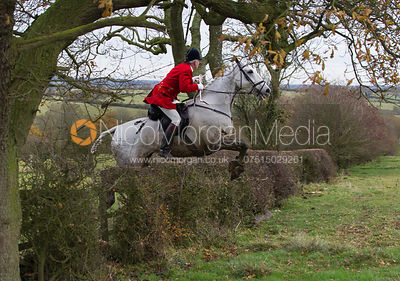 The Cottesmore Hunt meet at Manor Farm, Braunston, on Tuesday 13th November 2012.
