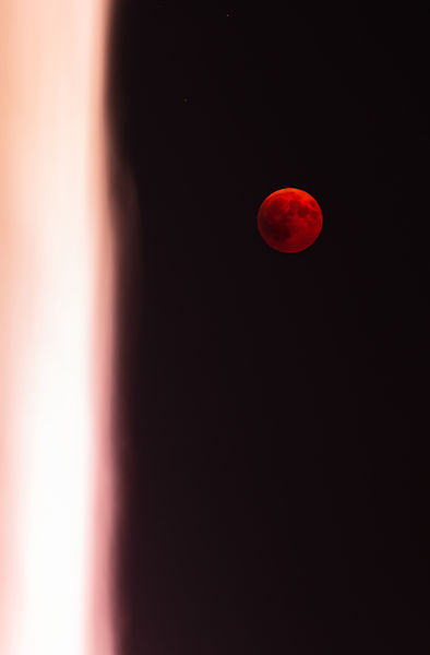 Blood Moon & Jet D'eau