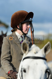 Eliza Culloty at second horses. Quorn Hunt Opening Meet 2018