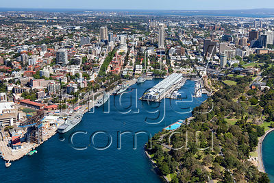 Woolloomooloo Bay and Potts Point