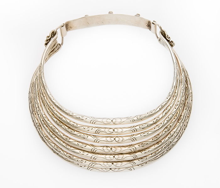 Hill tribe neck ring