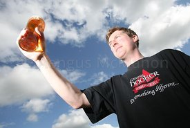 Aidan Murphy of the Galway Hooker microbrewery...Photograph by Aengus McMahon