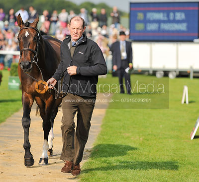 Gary Parsonage and Fernhill O'Dea - 2nd Inspection - Burghley 2010