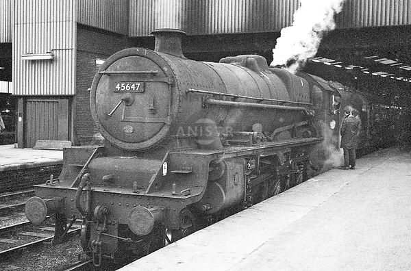 Steam Loco Jubilee 45647 Leeds City