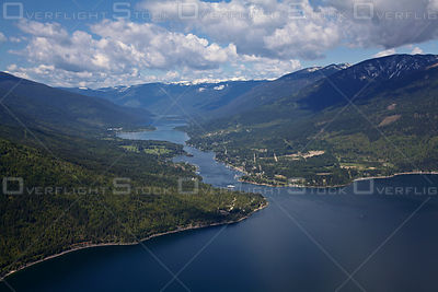 Balfour and West Arm of Kootenay Lake