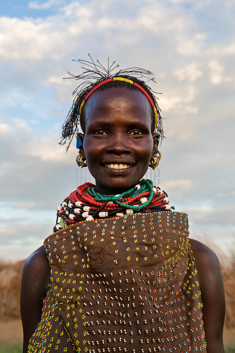 Portrait of a Nyangatom Woman