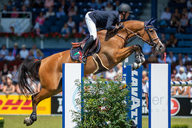 22/07/18, Aachen, Germany, Sport, Equestrian sport CHIO Aachen 2018 - Rolex Grand Prix,  Image shows Niels BRUYNSEELS (BEL) r...