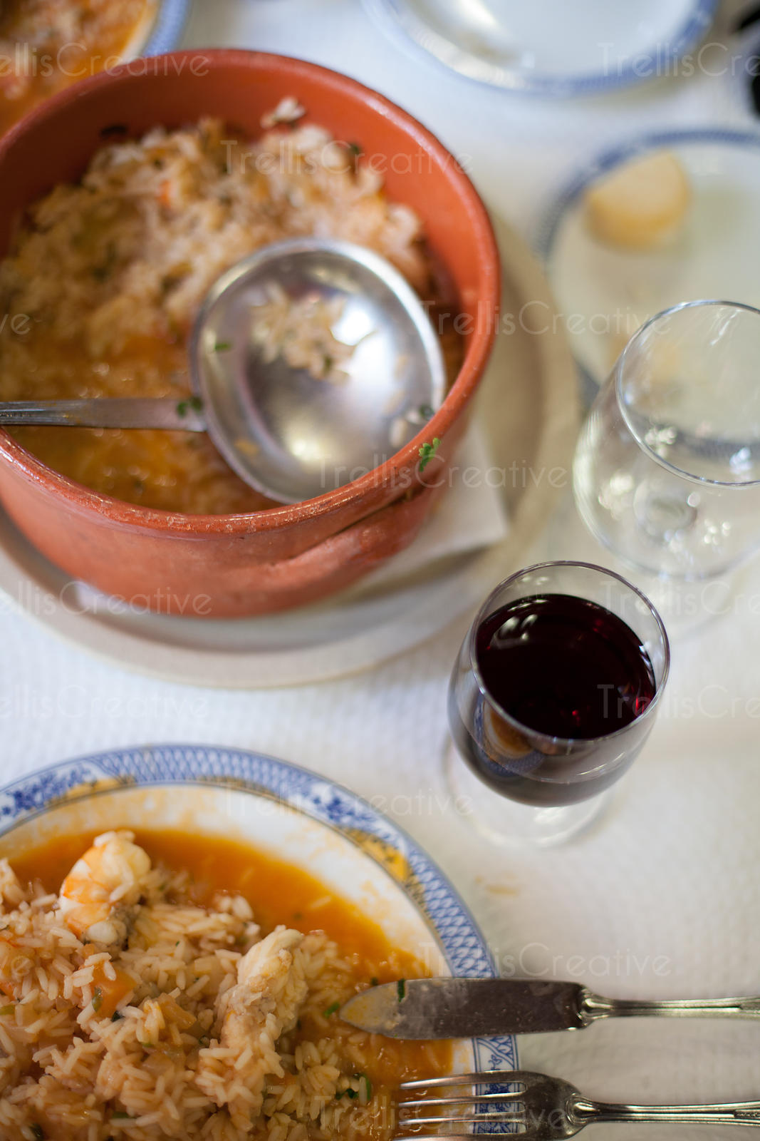 The monk fish stew was one of our memorable meals at Restaurante Regional de Sintra