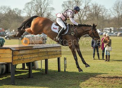 Georgie Spence and RUNNING BROOK II - Belton Horse Trials 2012
